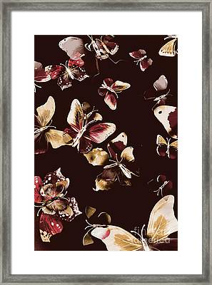 Abstract Butterfly Fine Art Framed Print by Jorgo Photography - Wall Art Gallery