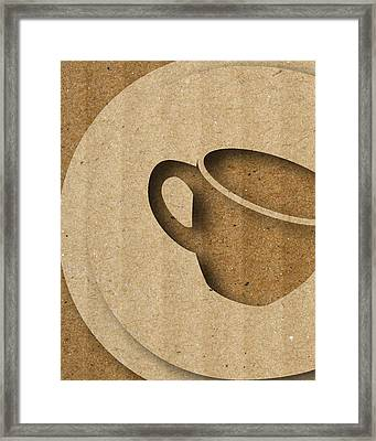Abstract C Framed Print by Vanessa Bates