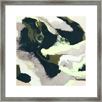 Abstract Camo Framed Print