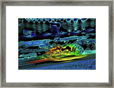 Abstract Carriage Ride Framed Print