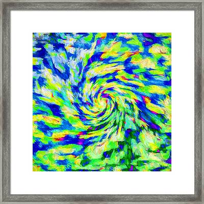 Abstract - Category 5 Framed Print