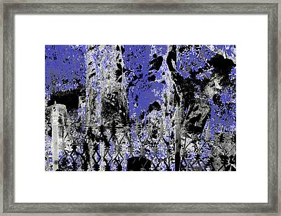 Abstract Cemetery Framed Print
