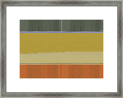 Abstract Clear Sky Framed Print by Naxart Studio