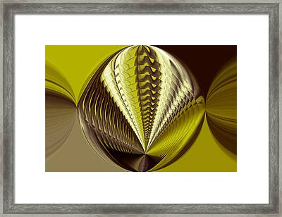 Abstract Color Framed Print