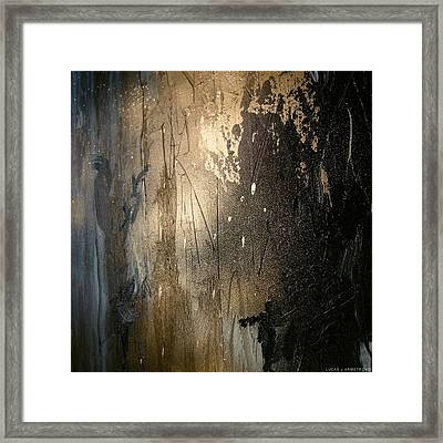 Abstract Color Study Framed Print by Lucas Armstrong