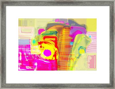 Abstract Colors Framed Print by Don  Wright