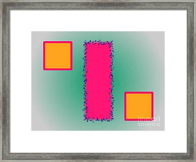 Abstract Composition 03 Framed Print by Celestial Images