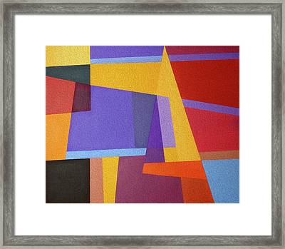 Abstract Composition 7 Framed Print