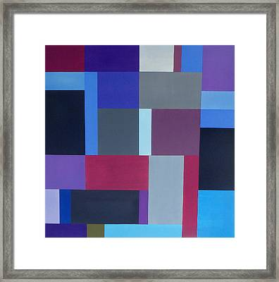 Abstract Composition I Framed Print