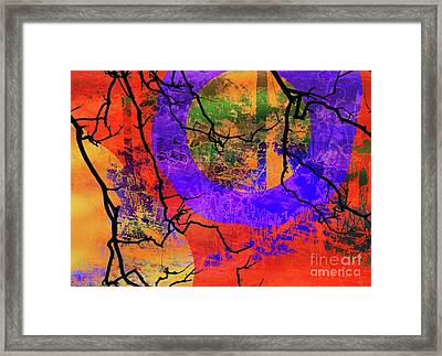 Abstract Configuration Framed Print by Robert Ball