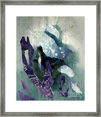 Abstract Construction Framed Print by Sarah Loft