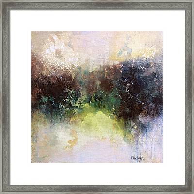 Abstract Contemporary Art Framed Print