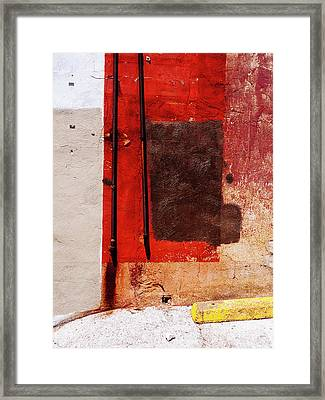 Abstract Contemporary Minimal Photography Framed Print by Dylan Murphy