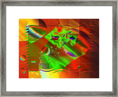 Abstract Covers Framed Print by Mario Carini