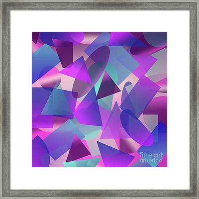 Abstract Cube II Framed Print by Amir Faysal