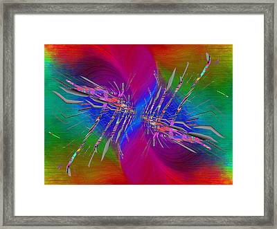 Abstract Cubed 353 Framed Print by Tim Allen