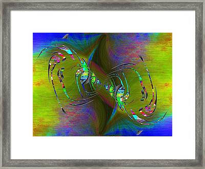 Abstract Cubed 361 Framed Print by Tim Allen