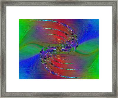 Abstract Cubed 384 Framed Print by Tim Allen