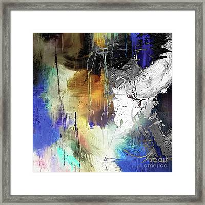 Abstract Dance Framed Print by Sadegh Aref