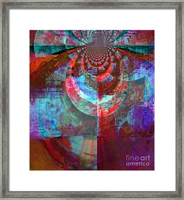 Abstract David Dance Framed Print by Fania Simon