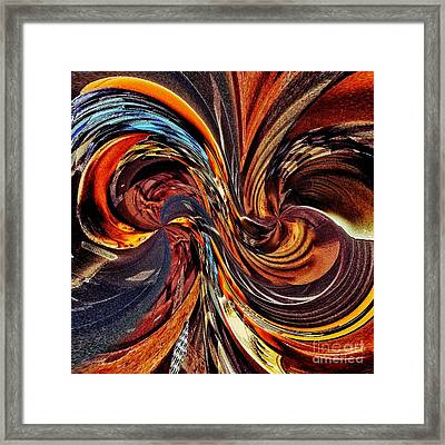 Abstract Delight Framed Print by Blair Stuart