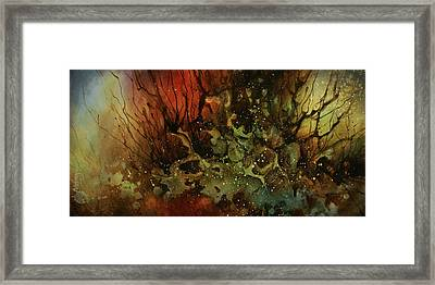Abstract Design 101 Framed Print by Michael Lang