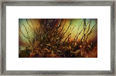 Abstract Design 103 Framed Print by Michael Lang