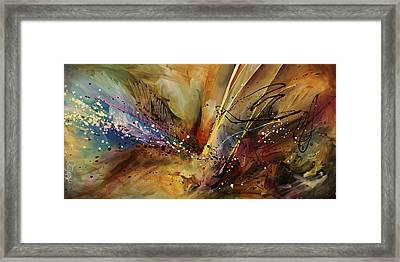 Abstract Design 108 Framed Print by Michael Lang