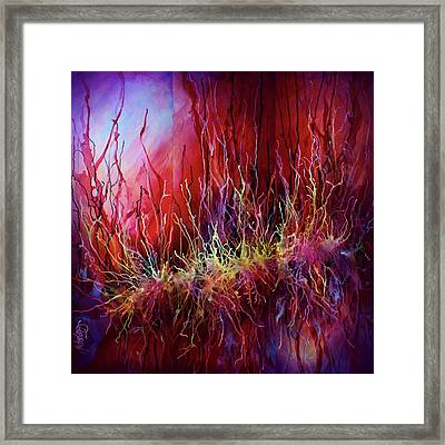 Abstract Design 110 Framed Print by Michael Lang