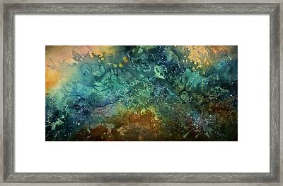 Abstract Design 27 Framed Print by Michael Lang