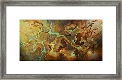 Abstract Design 29 Framed Print by Michael Lang