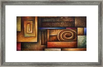 Abstract Design 30 Framed Print by Michael Lang