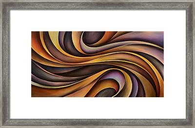 Abstract Design 31 Framed Print by Michael Lang