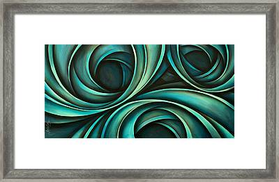 Abstract Design 33 Framed Print by Michael Lang