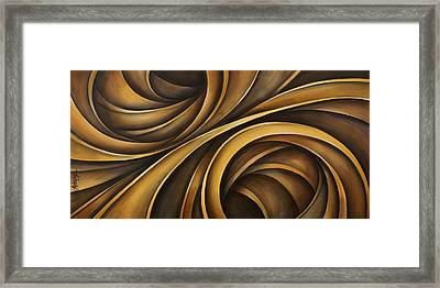Abstract Design 34 Framed Print by Michael Lang
