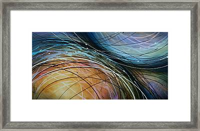 Abstract Design 41 Framed Print by Michael Lang