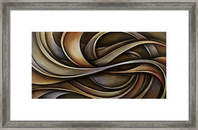 Abstract Design 42 Framed Print by Michael Lang
