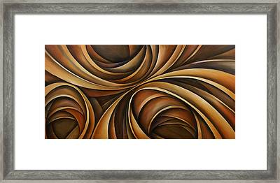 Abstract Design 43 Framed Print by Michael Lang
