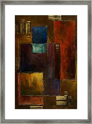 Abstract Design 65 Framed Print by Michael Lang
