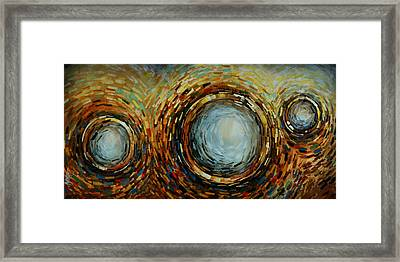 Abstract Design 68 Framed Print by Michael Lang