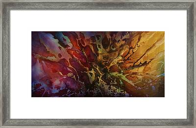 Abstract Design 74 Framed Print by Michael Lang
