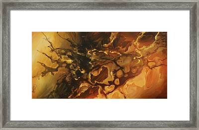 Abstract Design 75 Framed Print by Michael Lang