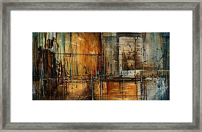 Abstract Design 76 Framed Print by Michael Lang