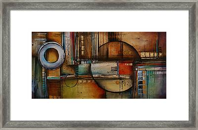 Abstract Design 77 Framed Print by Michael Lang