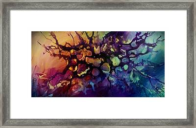 Abstract Design 83 Framed Print by Michael Lang