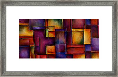 Abstract Design 93 Framed Print by Michael Lang