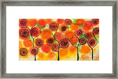 Abstract Design Framed Print by Nirdesha Munasinghe