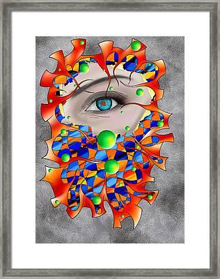 Abstract Digital Art - Delaneo V3 Framed Print by Cersatti