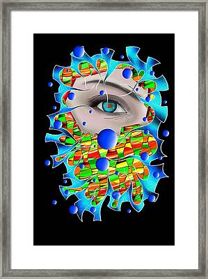 Abstract Digital Art - Delaneo V4 Framed Print by Cersatti