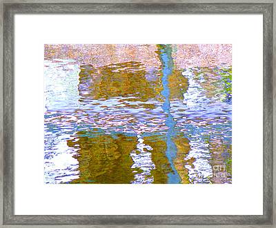 Abstract Directions Framed Print